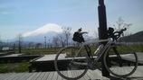 オルベアと富士山と山中湖