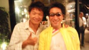 白戸太郎さんとツーショット
