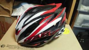 新しく買ったヘルメット